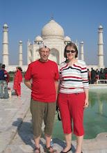 Photo: Taj Mahalille palattiin vielä seuraavana aamuna