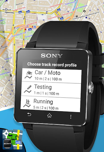 Locus Map - add-on SmartWatch2