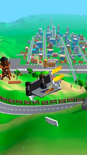 Crash Delivery! Destruction & smashing flying car!  screenshots 1