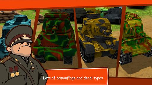 Toon Wars: Battle tanks online APK 2.54 screenshots 2