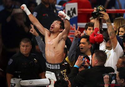 Un adversaire et une date pour le prochain combat de Manny Pacquiao