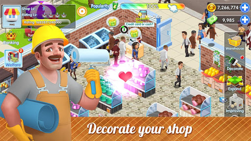 My Supermarket Story : Store tycoon Simulation 1.0 screenshots 4