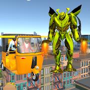 Tuk Tuk Robot Transformation Driver 2018