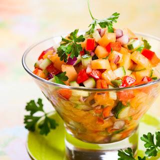 Cucumber Apple Salsa Recipes
