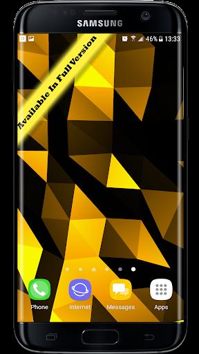 Parallax  Golden Crystal Edge 3D Live Wallpaper 1.0.1 screenshots 5