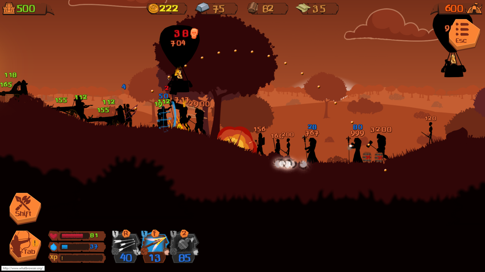 Invasion of Barbarians- screenshot