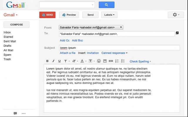 gmail email template - Etame.mibawa.co