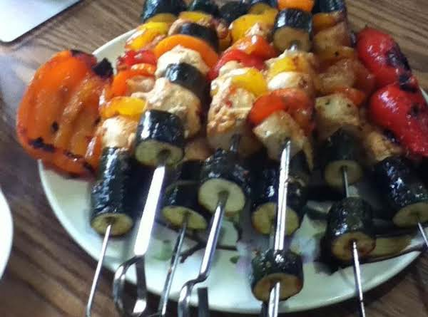 Chicken Veggie Kabobs Recipe