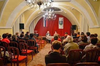 Photo: Predstavitev knjige dr. Jerneja Kosija Kako je nastal slovenski narod v Ormožu. (Foto Marjan Dovečar)