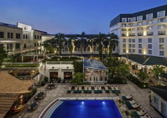Khách sạn Metropole Hà Nội là khách sạn 5 sao nổi tiếng