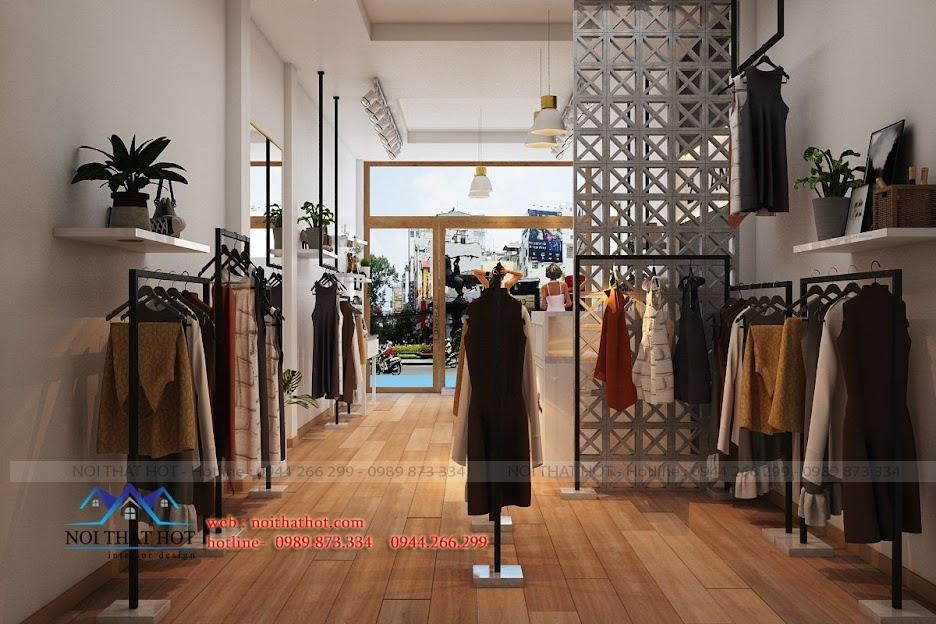 thiết kế shop thời trang nữ bền đẹp