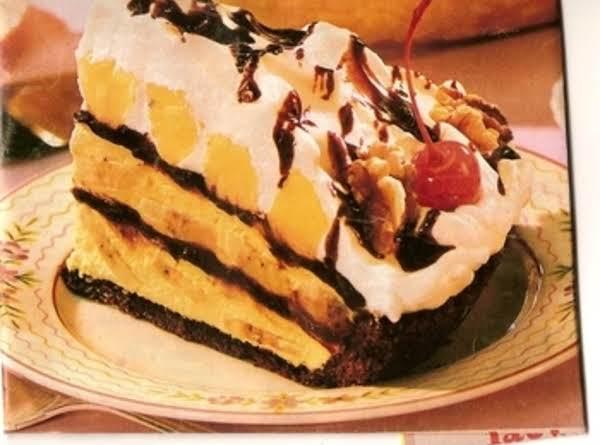 Mile-high Banana Split Pie