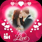 Valentine Video Maker Icon
