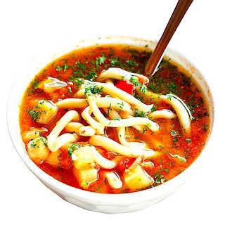 The Hirshon Uzbek Lamb, Noodle and Vegetable Soup – Lagʻmon.