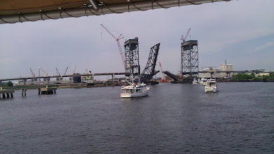 Photo: The bridge is opening.