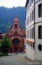 Photo: Füssen. Oude kloosterkerkje.