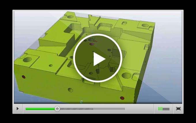 VISI Machining - автоматическое распознавание элементов