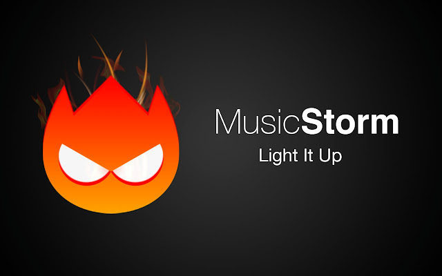 Music Storm - visualize any music tab