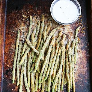 Baked Asparagus Fries with Creamy Lemon Sauce April 14, 2015