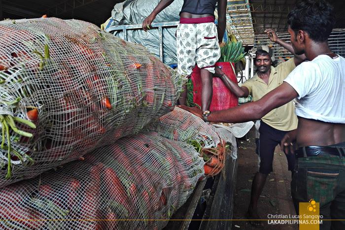Dambulla Market Sri Lanka