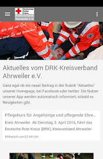 DRK-Kreisverband Ahrweiler- screenshot thumbnail