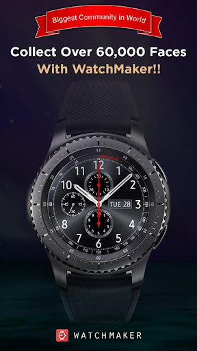 Screenshot for Watch Face -WatchMaker Premium for Android Wear OS in United States Play Store