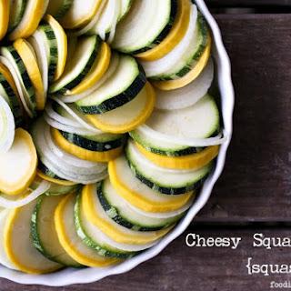 Cheesy Squash Tian {squash bake}