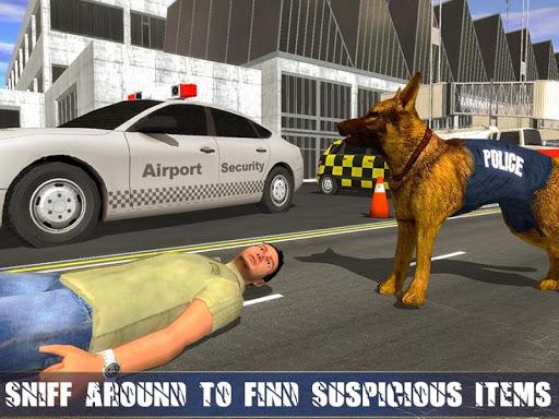 Police Dog Airport Crime Chase : Dog Games 2.9 screenshots 3