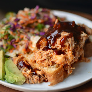 BBQ Shredded Chicken.