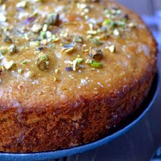 Pistachio Cake (eggless recipe)