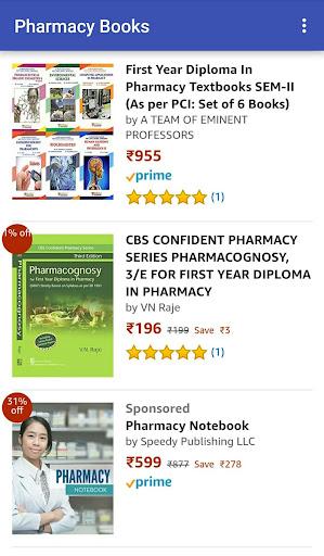 Pharmacy Books at Amazon 1.0 screenshots 7