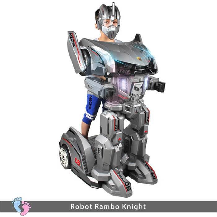 Siêu phẩm Robot Rambo Knight Cho bé 3