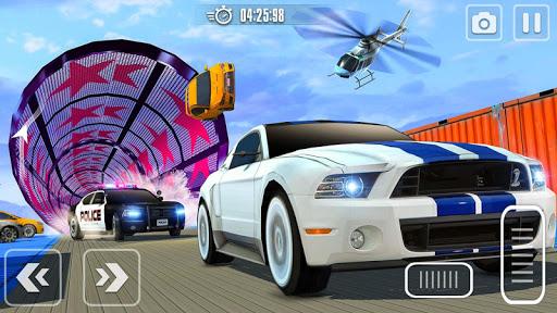 Impossible Race Tracks: Car Stunt Games 3d 2020 apkpoly screenshots 7