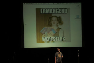 Photo: What we did at night - w00tstock (nerd variety show); Wil Wheaton