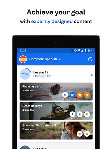 Screenshot for Busuu: Learn Languages - Spanish, English & More in Hong Kong Play Store