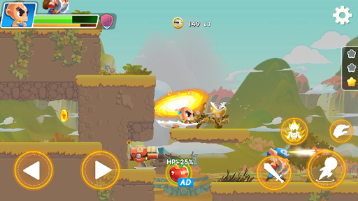 Hero the Man - Transform to Super Z SSJ Warriors 1.6.0.186 screenshots 22