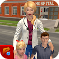 Happy Family Doctor Mom Pregnant Surgery Game
