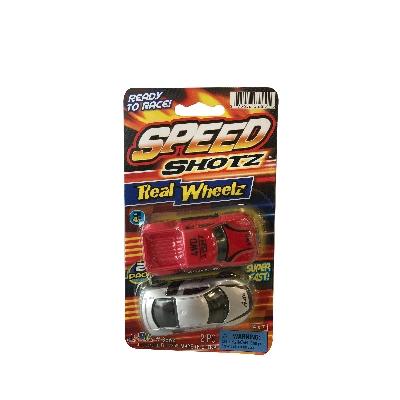 juguete jaru set 2 carros speed shots