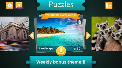 Landscape Jigsaw Puzzles Free apklade screenshots 1