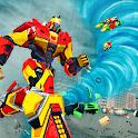 Hurricane Tornado Robot Transforming - City Rescue icon
