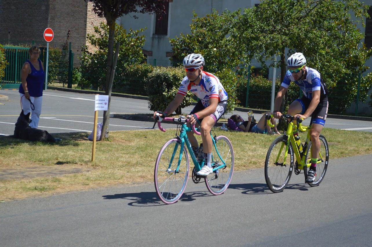 Championnat National de Cyclisme FSGT à Saint Gengoux le National les 7 et 8 Juillet 2018