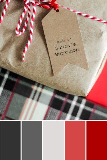 Santa's Workshop Palette - Christmas template