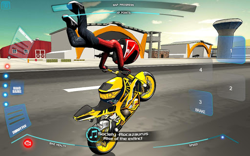 Stunt Bike Freestyle apkpoly screenshots 2