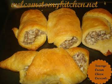 Sausage Cream Cheese Crescents