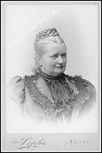 Photo: Adolfina Hompesch, żona właściciela majątku rudnickiego hrabiego Ferdynanda Hompescha. (Skan zdjęcia udostępnionego przez Panią Zofię Chmiel)