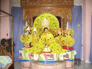 Photo: The impeccable and main Bigraha of Prabhu Jagadbandhusundar at Dhaka Mahaprakash Math