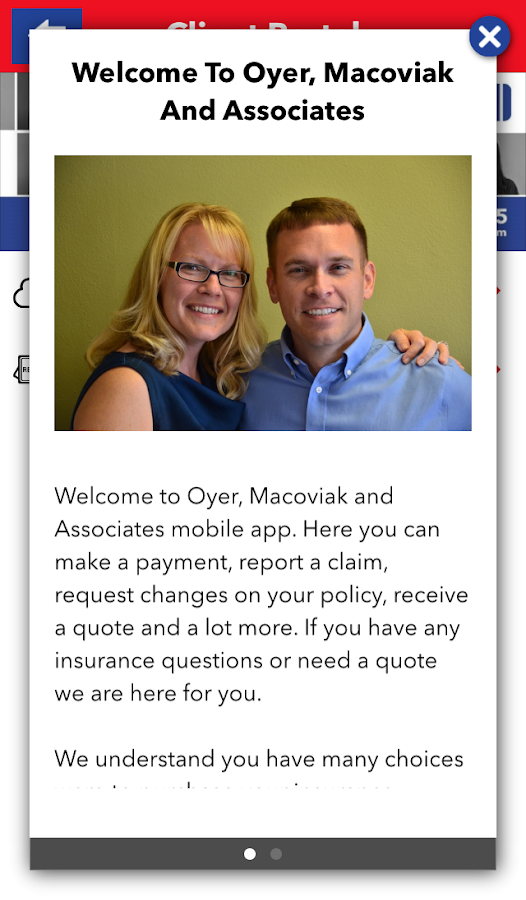 Oyer, Macoviak & Assoc.- screenshot