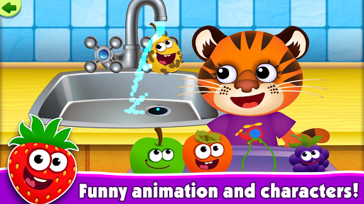 FunnyFood Kindergarten learning games for toddlers  screenshots 2
