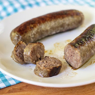 Pan Fried Bratwurst