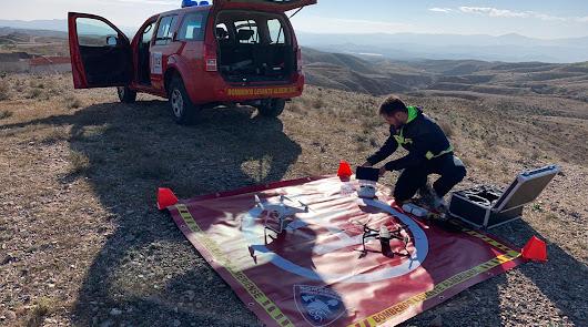 Drones de Bomberos de Levante se suman a la búsqueda de Francisco Martínez